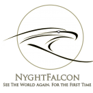 The House of NyghtFalcon Portal Sticky Logo
